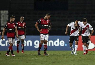 River arranca un empate al Flamengo