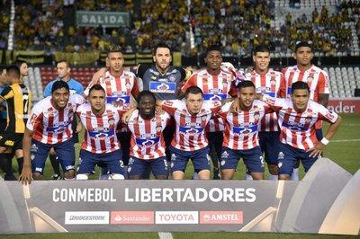 Junior recibe a Palmeiras