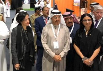 Ministra de Hacienda realizó visita a Emiratos Árabes Unidos