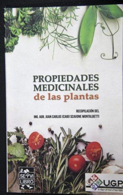 Lanzan libro sobre plantas medicinales