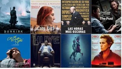 Celebran hoy la 90ª edición de los Premios Oscar 2018