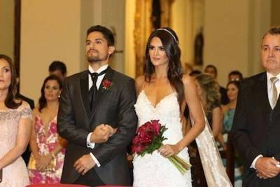 Se casó Leryn Franco