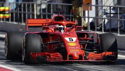Vettel, el más rápido en una jornada negra para McLaren