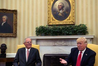 Trump conversó con Kuczynski sobre Cumbre de las Américas