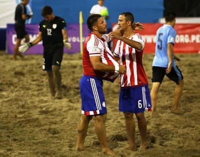 Enorme Paraguay es finalista de la Copa América Playa