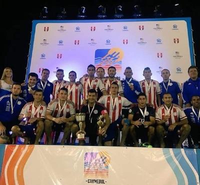 Paraguay es digno subcampeón de la Copa América de Playa