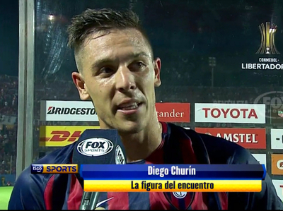 Diego Churín, la gran figura del Ciclón