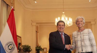 Directora del FMI destaca solidez económica de Paraguay en AL
