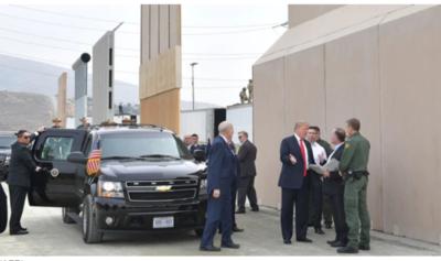 Trump sugiere que se pague el muro con fondos para inmigrantes
