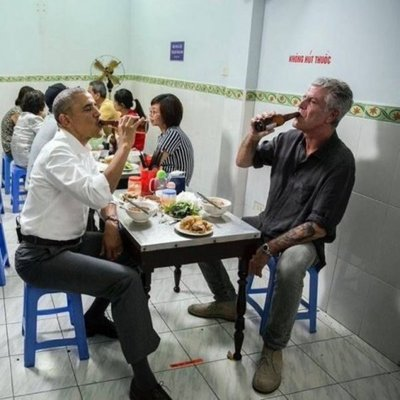 La mesa de Obama convertida en objeto de culto