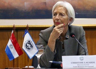 Lagarde aconseja estabilidad económica para garantizar crecimiento