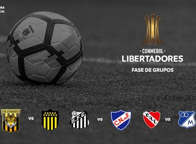 La Libertadores cierra otra semana a puro fútbol