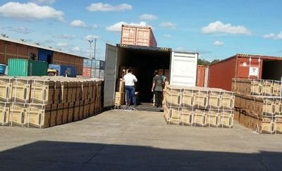 Aduanas saca de circulación a millonario contrabando
