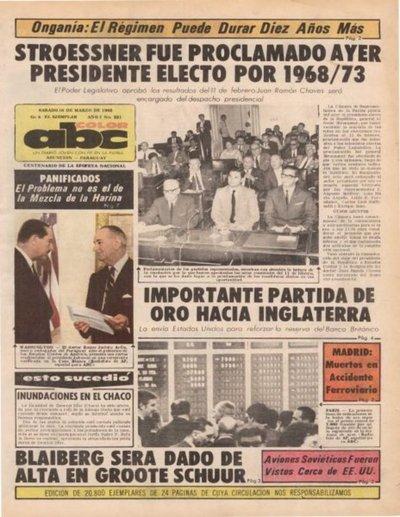 16 de marzo de 1968