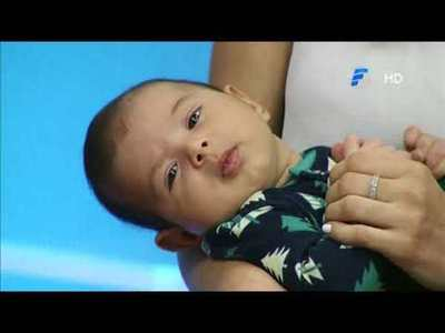 ¡Costanzo, el hijo de Pati Ginzo por primera vez en El Resumen!