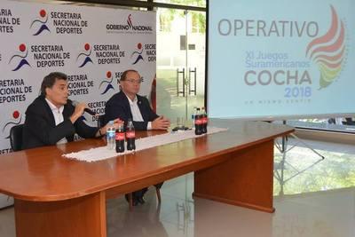 SND presentó operativo de preparación para Juegos Odesur 2018