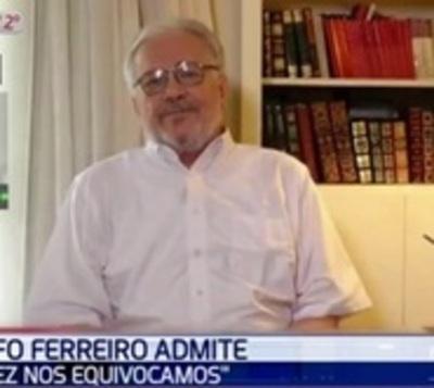"""Adolfo Ferreiro: """"Tal vez nos equivocamos"""""""