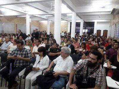 Llaman a jóvenes a extirpar la corrupción en Paraguay