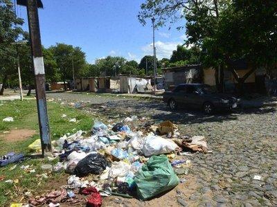 Mugre se apoderó de Asunción