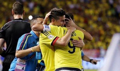 Falcao y James encabezan a Colombia para amistosos