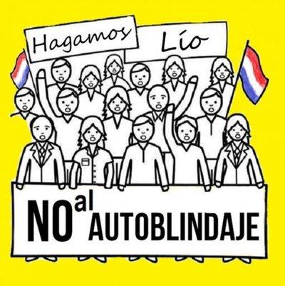 Convocan a protesta contra el autoblindaje