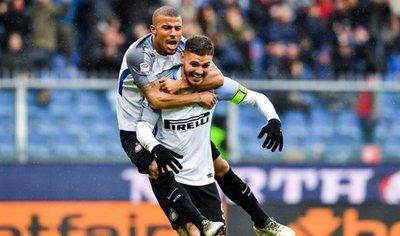 Mauro Icardi supera los 100 goles en la Serie A