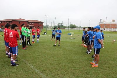 La concentración de la Selección Sub 21