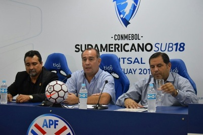Paraguay debuta ante Bolivia en Sudamericano Sub 18 de Futsal