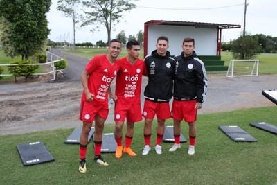 La Selección Sub 21 de cara al debut oficial