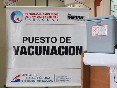 Vacunatorios de Asunción listos para aplicación de antigripal