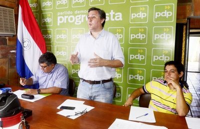 "PDP repudia ""atropello constitucional"" de Afara"