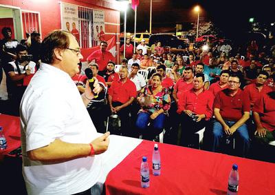 En Alto Paraná, las 40 seccionales están con los respectivos jefes de campaña