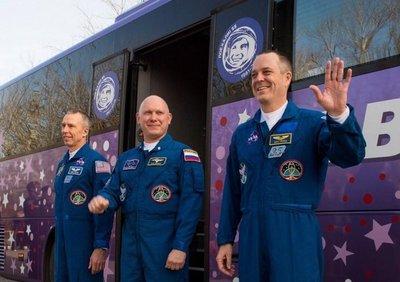Al espacio en nave rusa