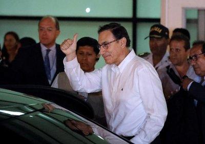Vizcarra pide fe y optimismo antes de asumir Presidencia