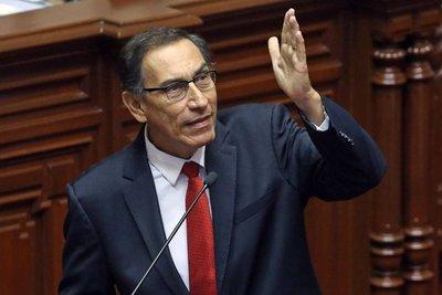 Martín Vizcarra, nuevo presidente del Perú