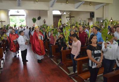 Obispo invita a renovar la fe en esta Semana Santa