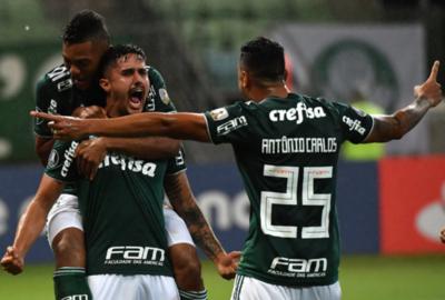 Palmeiras también se pone al tope en Copa