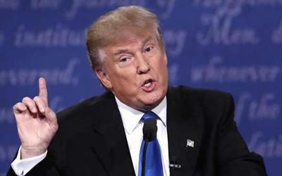 """""""No estamos en una guerra comercial con China"""", afirma Donald Trump"""
