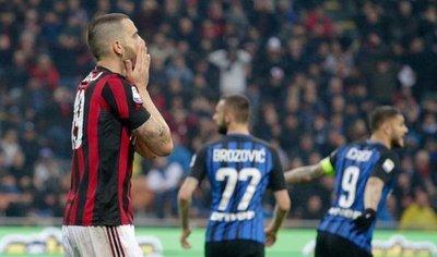 Milan e Inter empatan y dejan inalterados los equilibrios por Europa