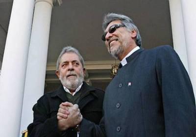 """Lugo sobre su compañero Lula: """"Quieren sacarlo de la cancha por su popularidad"""""""