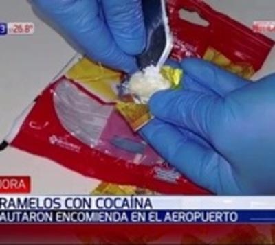 Incautan caramelos de cocaína que iban rumbo a Asia