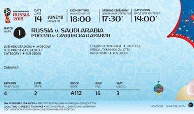 FIFA presenta el diseño de entradas para el Mundial