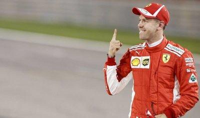 Vettel saldrá desde la pole en Sakhir