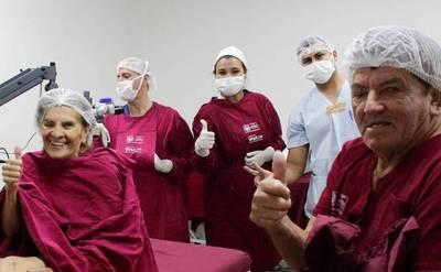 Pilar: 85 personas con catarata recuperan la vista en campaña de Fundación Visión