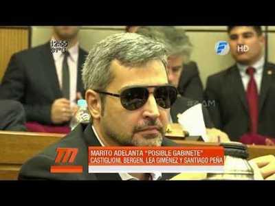 Los primeros posibles ministros de Mario Abdo si es electo presidente