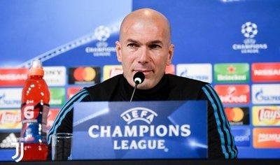Zidane: Los grandes clubes no se rinden nunca