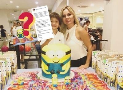 Dahiana Bresanovich Y Junior Rodríguez Celebraron Juntos El Cumpleaños De Su Hijo