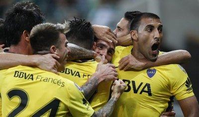 Tevez ayuda a Boca a cosechar un empate en la casa de Palmeiras