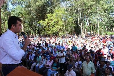 EL MINISTRO DE AGRICULTURA Y GANADERÍA SE REUNIÓ CON PRODUCTORES YERBATEROS EN ITAPÚA