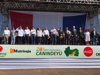 Destacan el crecimiento de la producción en la Expo Canindeyú